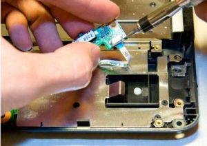 ремонт кнопки питания ноутбука