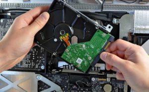 Замена жесткого диска на компьютере